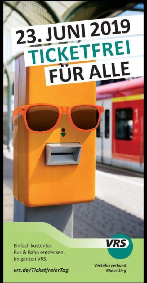 Ticketfreier Tag Am 23. Juni 2019 kostenlos Bus und Bahn fahren!