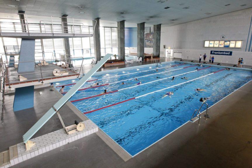 🏊🏻♂️ Schwimmbecken des Frankenbads vorübergehend für Reparaturen geschlossen 🏊🏻♀️