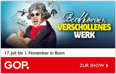 """""""Beethovens verschollenes Werk"""" Eine Zirkusgeschichte im GOP Varieté Theater Bonn"""