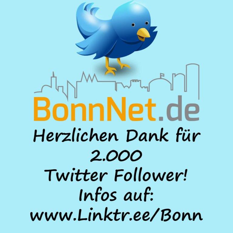Herzlichen Dank für 2.000 Twitter Follower!
