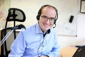 """""""Hybrides Arbeiten"""": CTO Martin Bernemann arbeitet die neuen Mitarbeiter digital in laufende Projekte ein"""