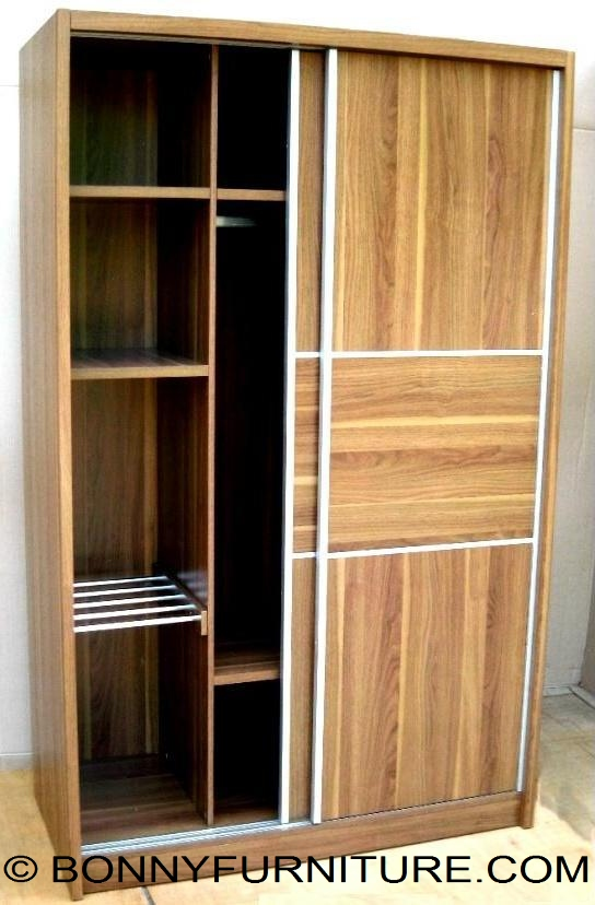 1101SD Wardrobe Cabinet Sliding Doors  Bonny Furniture