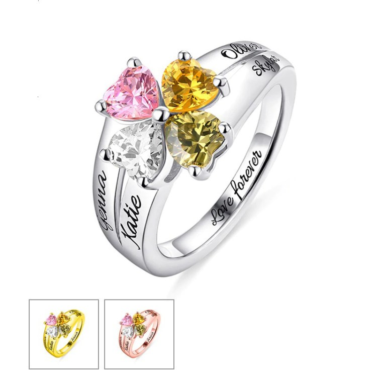 Birthstonen Ring