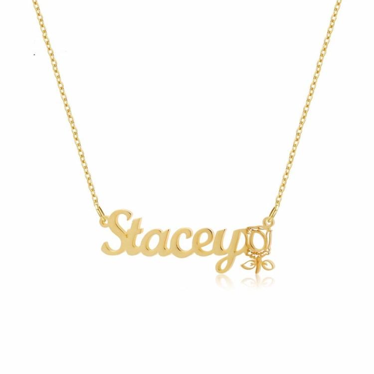 Flower Symbol Necklace