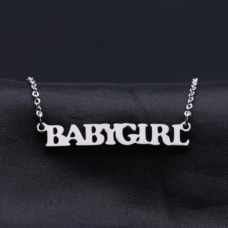 Bold Style Name Necklace