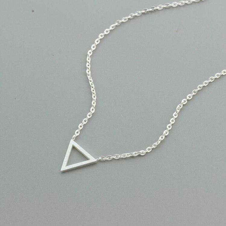 minimalist jewelry designer bonny planet necklace
