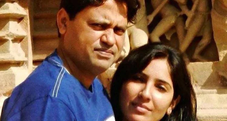 Kena with husband