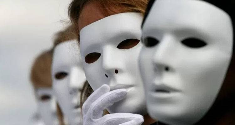 people with mask