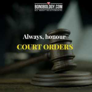 Honour court orders