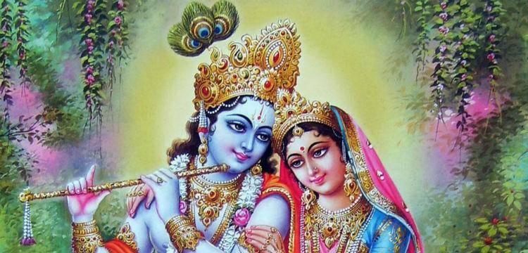 Rukmini and Krishna
