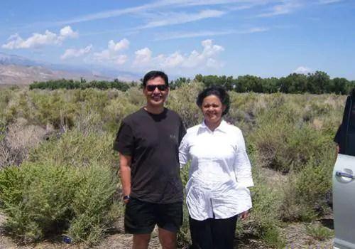 Sheela Jaywant and her husband