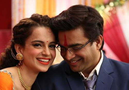 """'arranged but there was love'<a href=""""https://scroll.in/article/728953/film-review-in-tanu-weds-manu-returns-kangana-ranaut-has-twice-the-fun""""> Image Source </a>"""