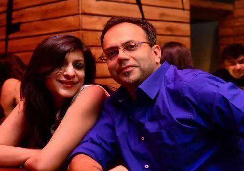 Shivani and Nadish