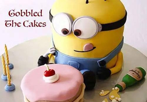 gobbled cakes