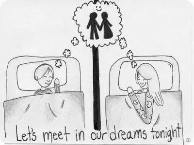 let's meet in dreams