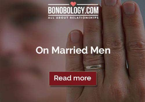 Get over a married man