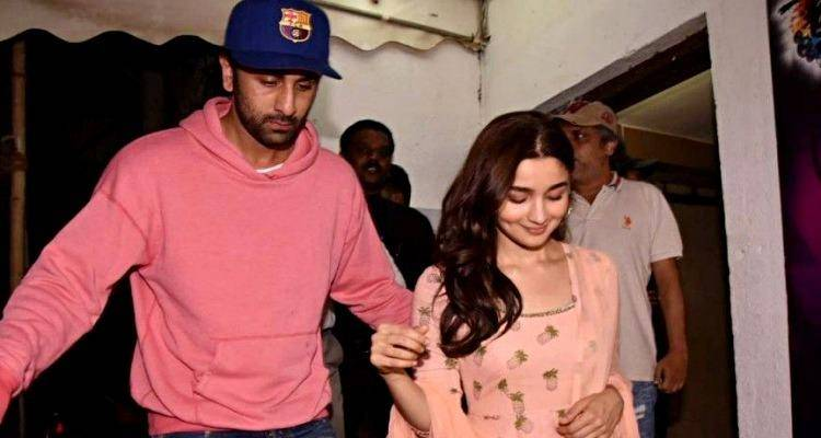 Ranbir with alia