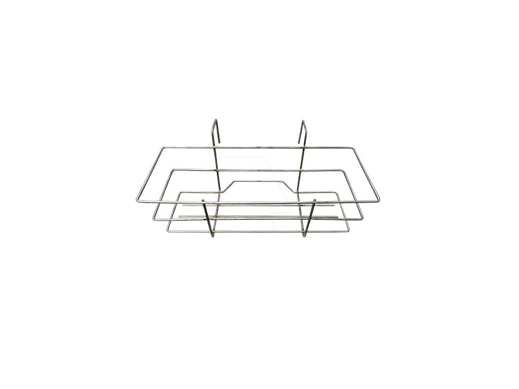 Balconiera fissa in filo metallico