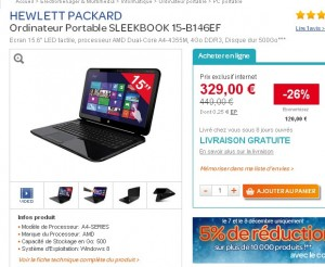Pc Portable Tactile A 312 Euros Port Inclu