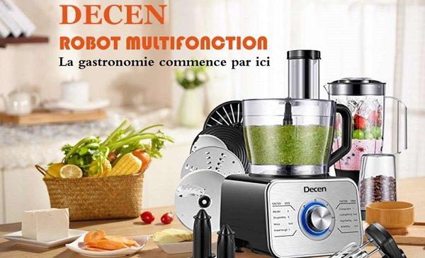 cuisine multifonction acier decen 1100w