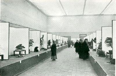 At the second Kokufu Bonsai Ten, December 1934