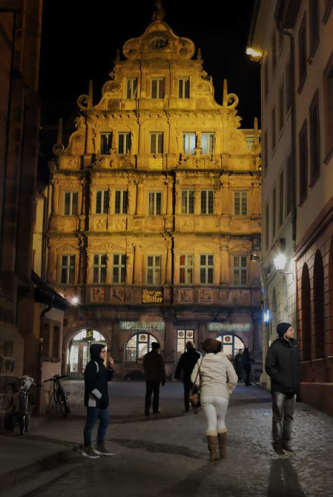 Hotel Ritter em Heidelberg na Alemanha