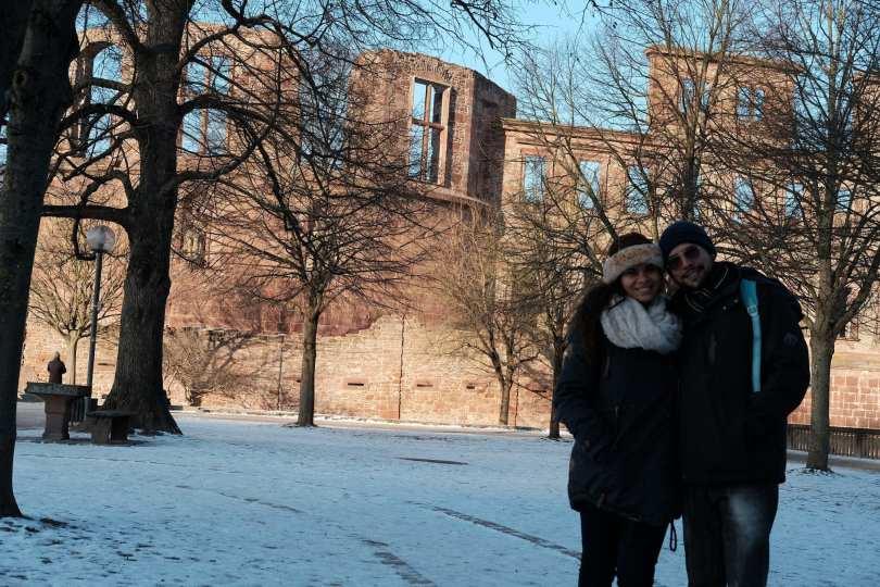 Castelo de Heidelberg na Alemanha