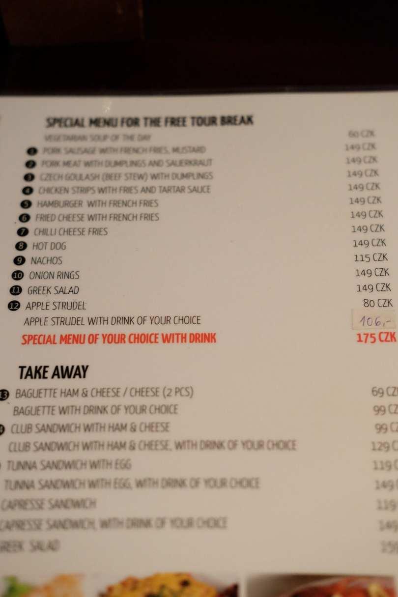 Onde comer em Praga Bons Ventos me Levam