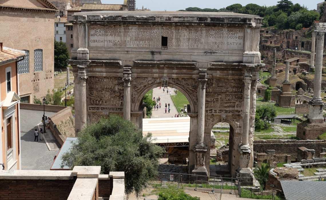 Fórum Romano 4 dias em Roma