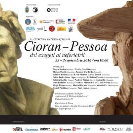 "The International Symposium ""Cioran-Pessoa two exegetes of unhappiness"""