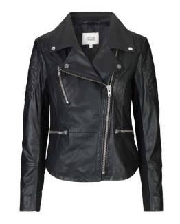 Ellie leather jacket black Second Female