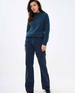 Reine pant oil blue By-Bar