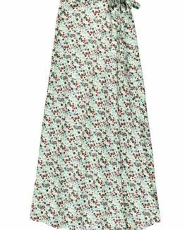 Cruise Voluptuous a-sym skirt mint Essentiel