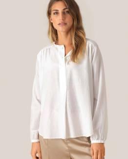 Auso ls blouse white Second Female