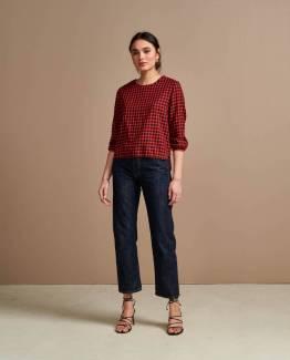 Solong02 blouses check B Bellerose