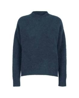 Sweater steel blue Noman'sland