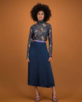Skirt nightblue Pom Amsterdam