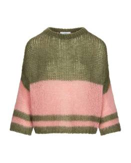 Evi astro pullover olive By-Bar
