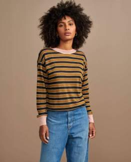 Senia02 t-shirts stripe F Bellerose