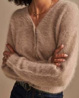Datam02 knitwear mousse Bellerose