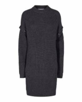 Rowie button knit dress Co'Couture
