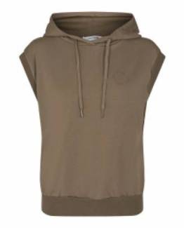 Rush hoodie vest army Co'Couture