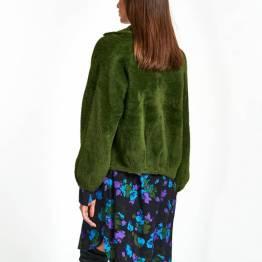 Wes soft cardigan palace green Essentiel