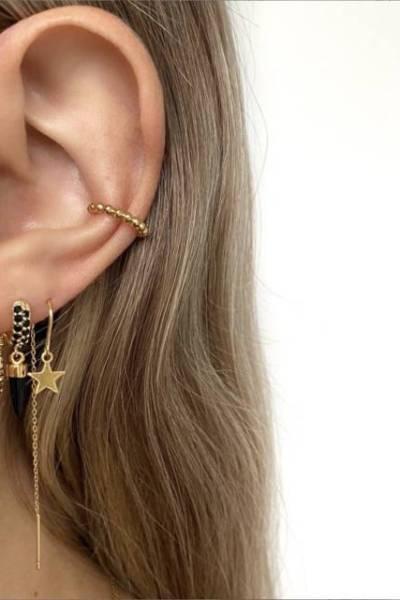 Ear cuff dot By Nouck