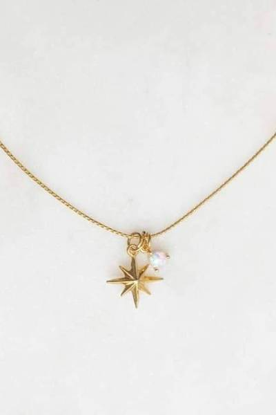 Necklace northstar opal By Nouck