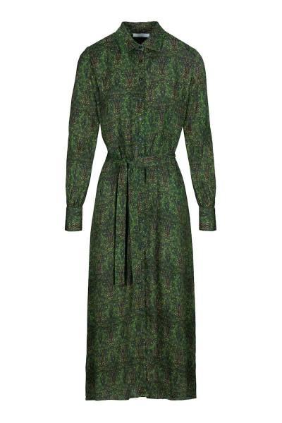 Yara paisly dress evergreen By-Bar