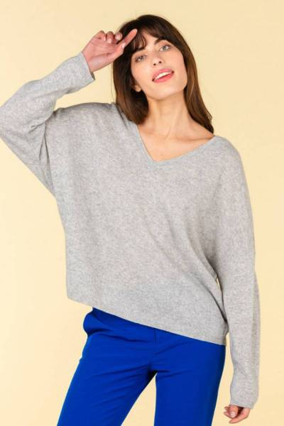 Alicia gris chine Absolut Cashmere