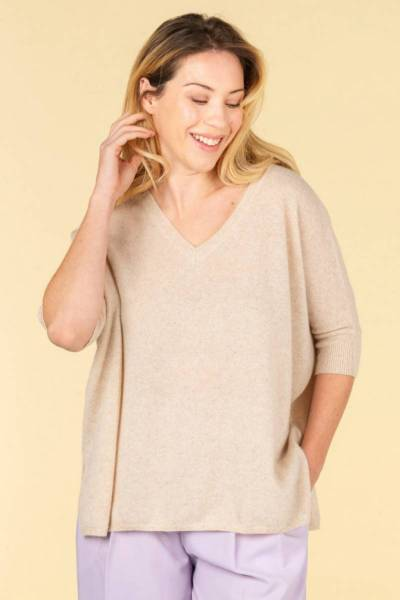 Kate beige chine Absolut Cashmere