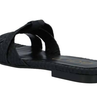Snake reptil black sandals Ca'shott Copenhagen