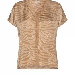 Ariana zebra blouse incense Mos Mosh